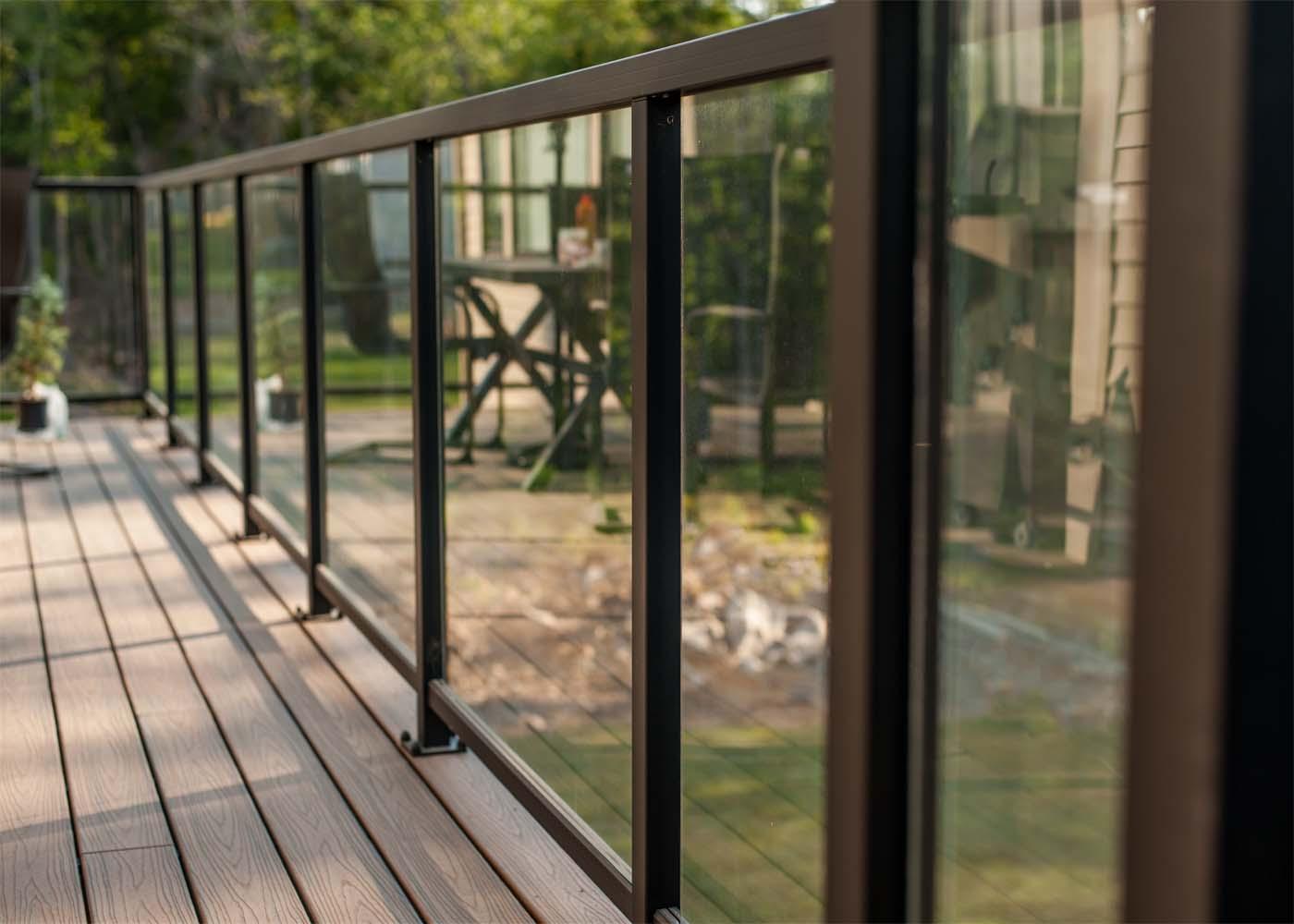 Residential Aluminum Amp Glass Railing Systems Park Rail
